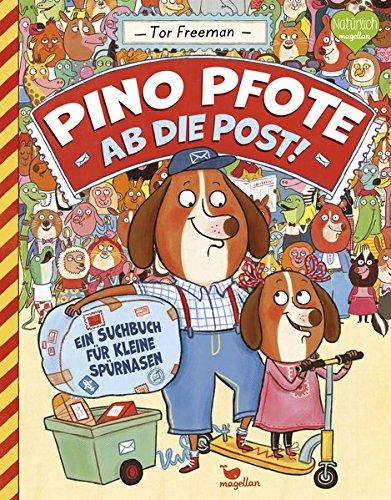 Wimmelbuch Pino Pfote - Ab die Post von Tor Freeman