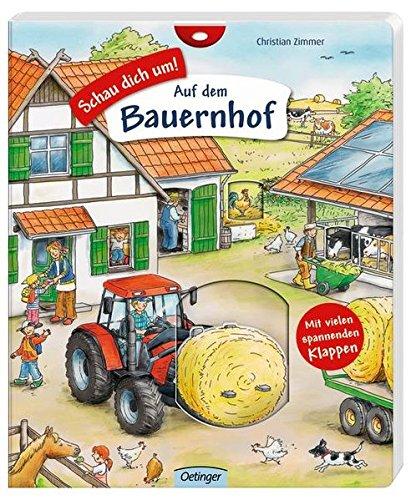 Wimmelbuch - Schau dich um - Auf dem Bauernhof - von Christian Zimmer
