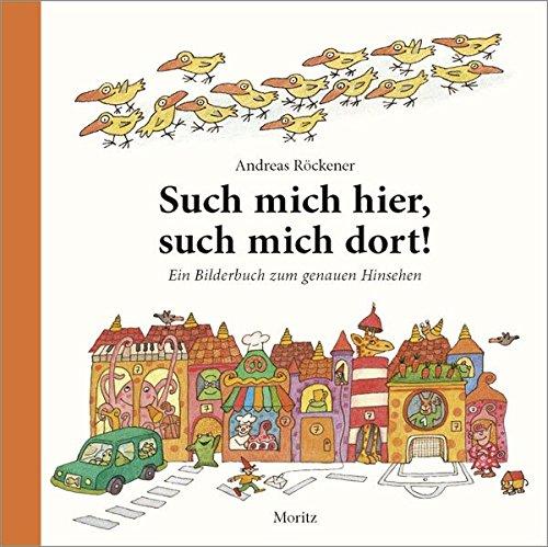 Wimmelbuch - Such mich hier, such mich dort - Andreas Röckener