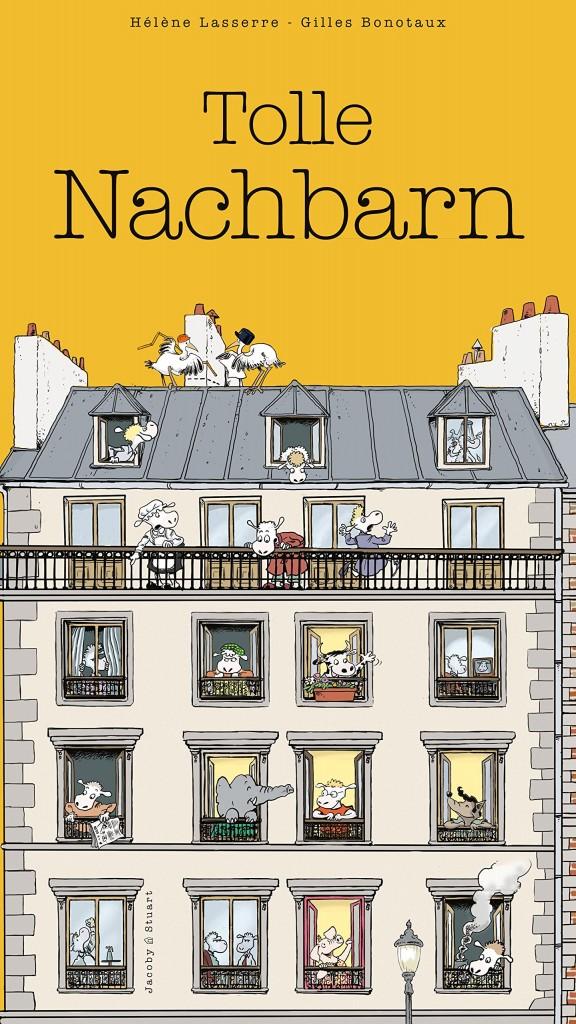 Wimmelbuch: Tolle Nachbarn von Hélène Lasserre