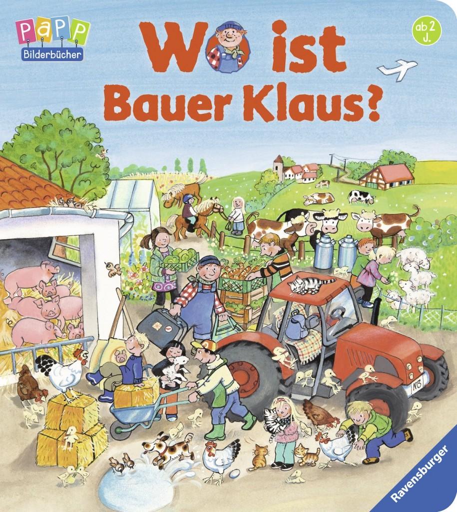 Wimmelbuch - Wo ist Bauer Klaus - von ZORA
