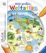 tiptoi® Kindersachbuch: tiptoi® Mein großer Weltatlas für Kinder von 5 bis 8 Jahre - Buchcover