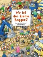 Wo ist der kleine Bagger - Mein großes Wimmel-Guckloch-Buch von Joachim Krause