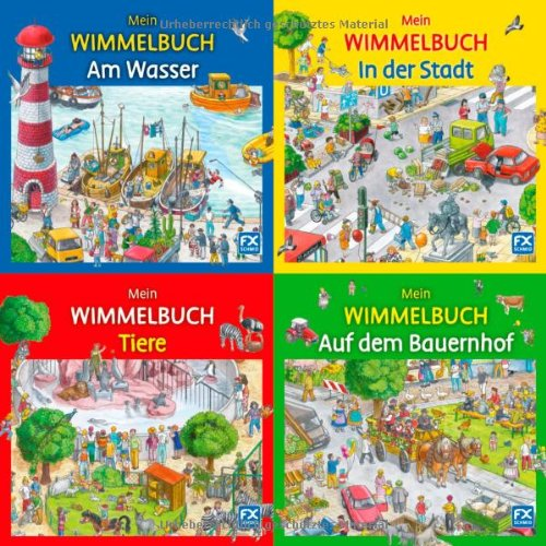 Wunderschöne Wimmelbücher von Caryad und Anne Suess
