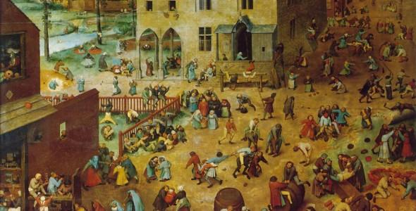 Pieter Bruegel d. Ä. - Die Kinderspiele
