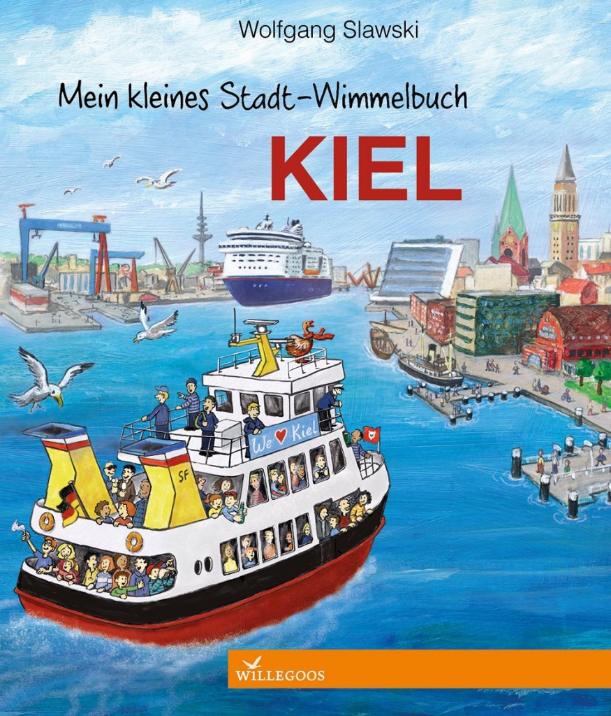 Mein kleines Stadt-Wimmelbuch Kiel von Wolfgang Slawski