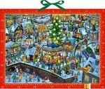 Wimmelbild-Adventskalender - Wimmeliger Weihnachtsmarkt